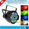 Recentste LED Party Light 54*3W RGB Edison LEDs voor Stage Wash Effect met Ce, RoHS