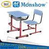 Estudante ajustável de madeira mesa e cadeira, Mobiliário escolar