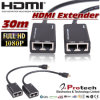 HDMI Extender 30m Over Cat5e/6 Cable Pet30d