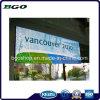 Impression d'étalage d'exposition de Frontlit de drapeau de câble de PVC (500dx500d 18X12 560g)