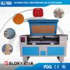 Corte de cuero del laser y máquina de grabado