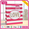 Valentinstag-rosafarbene Kleidungs-romantische Kosmetik-Geschenk-Papiertüten