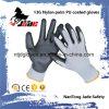 13GポリエステルまたはナイロンPUの上塗を施してある手袋