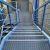 Stair Tread with Steel Material Bar Grating