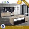 L形デザインカシ表の家具の支配人室の机(NS-D001)