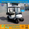 2 Seater elektrisches Golf-Auto mit hinterem Ladung-Kasten