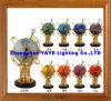 Hete Yaye 18 verkoopt de Aanstekende Bol van de Halfedelsteen Ce/RoHS 330mm/220mm/de Bol van de Halfedelsteen/de Bol/de Giften van de Wereld