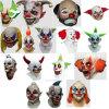precio de fábrica la decoración del Partido de la Máscara de látex Haloween diversificada