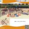 Structure en acier de plein air de l'escalade avec toboggan pour les enfants HX1503K