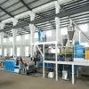 Pet/reciclaje de PVC de doble hoja de plástico de doble husillo de la máquina
