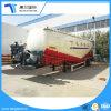 Порошок транспорта Полуприцепе танкеров для перевозки материалов от пыли