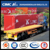 Hot Cimc Huajun 40FT Semi-reboque Flatbed Huajun