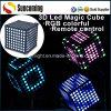 Illuminazione variopinta magica della decorazione della discoteca del cubo del LED 3D