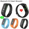 Bracelet intelligent Bluetooth à la mode avec moniteur cardiaque (V6)