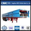 Cimc Tri-Axe 40 pieds de lit plat de bas de page de camion