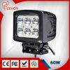 Luz de conducción brillante estupenda del CREE LED de la luz del trabajo de 60W LED