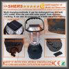Solar6 LED-Licht mit ankurbelndem Dynamo, USB (SH-1990)