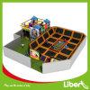 Liben Kids Factory Indoor Trampoline Elastica Bed com Indoor Playground