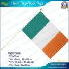 L'Irlande Drapeau de la main avec manche en bois (NF01F02025)
