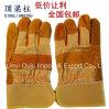 Wholesales 10,5 дюйма коровы Split кожаные рабочие перчатки для сварки