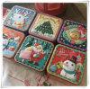 Tin Box café té azúcar artículos diversos aperitivos Estuche Caja de caramelos de socorro Size7.5X7.5X6.5cm tridimensional