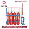 incêndio do sistema de supressão do incêndio do gás da mistura de 90L Ig541 - sistema extinguindo