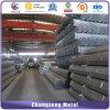 La construcción de la comercialización de tubos de acero redondo