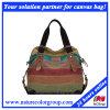 Segeltuch-Handtasche der Entwerfer-Freizeit-Mehrfarbenfrauen