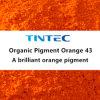 Pigmento arancione organico 43 per plastica (arancio brillante)