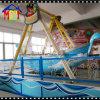 Barco azul do pirata do equipamento louco do parque de diversões do passeio Thrilling
