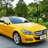 Tsautop黄色い車のビニールの覆いPVCステッカー