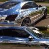 Ocrownのクロムミラーの銀の自動車顔料