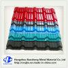 Placa de azotea acanalada del color de material para techos de la hoja revestida dura llena del azulejo