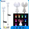 L'angelo solare materiale dell'acciaio inossidabile copre la lanterna del LED