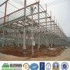 Prefab Workshop de Estrutura de Aço de Baixo Custo