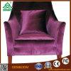 Sala de madeira francesa sofá individual