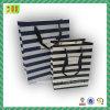 Gestreifte Art-Papier-Handtaschen für das Verpacken