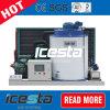 5000kg/jour de l'eau douce Flake navire de la machine à glace pour les poissons