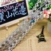 Breiten-Goldgewinde-Stickerei-Nylonnettospitze-Polyester-Stickerei-Zutat-Fantasie-Blumenspitze des Fabrik-auf lager Großverkauf-6cm für Kleid-Zusatzgerät u. Hauptgewebe