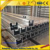 Barandilla de aluminio modificada para requisitos particulares del perfil de la protuberancia para el balcón en la construcción