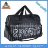 Il Duffle casuale di forma fisica della borsa di ginnastica dei bagagli di corsa mette in mostra il sacchetto di spalla