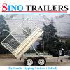Aanhangwagen van de Vrachtwagen van China 2016 de Hete Verkoop Vastgeboute
