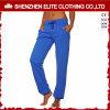 Azzurro pareggiante in bianco poco costoso di vendita caldo dei pantaloni (ELTJI-16)