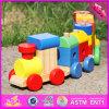 Automobile di legno W04A280 del giocattolo del blocchetto dei 2016 capretti all'ingrosso di modo