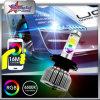 Scheinwerfer RGB-LED durch PFEILER Chip-Doppelträger Bluetoothcontrol