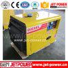Générateur diesel silencieux refroidi à l'air portatif de moteur diesel des générateurs 4.5kVA