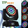 Iluminación de escenarios 36pcs*10W 4en1 Zoom Aura Cabezal movible LED