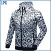 가을 얇은 방수 방풍 인쇄된 형식 재킷