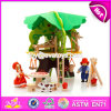 New Design Children DIY Wooden Tree Treehouse Brinquedos W03b057