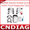 Супер Volvo VCADS V2.4.0, инструмент тележки Volve диагностический